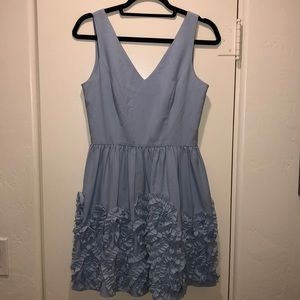 Francesca's Light Blue Dress